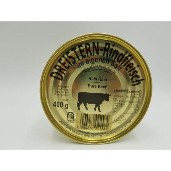 Rein Rind- conserva carne vita, 400 g