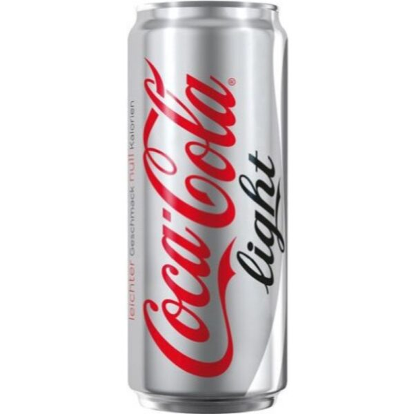 coca-cola light 0.33ml